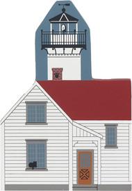 Cat's Meow Village Shelf Sitter Martha's Vineyard West Chop Lighthouse #4-2