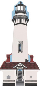Cat's Meow Village Shelf Sitter - California Lighthouse Pidgeon Point #00-424