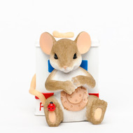 "Charming Tails Get-Well Mouse ""Here to Help You Heal"" #4035611"