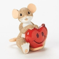 Charming Tails Mouse Mice Love Friendship You make my heart smile #19375
