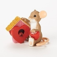 Charming Tails Mouse Wishing you a home filled with love! #19379