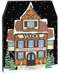 Cat's Meow Village Vixen's Stocking Stuffer Shop, #17-921