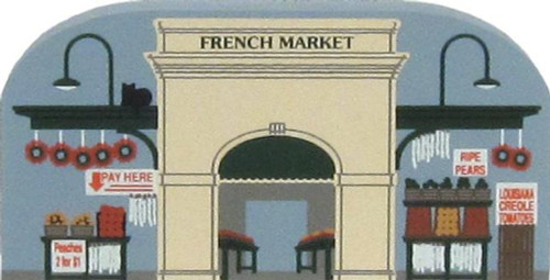 Cat's Meow Village NOLA French Market Stand #00-114