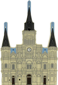 Cat's Meow Village NOLA Saint Louis Cathedral  #00-112