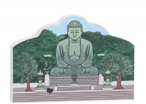 Cat's Meow Village Great Buddha #16-502