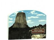 Cat's Meow Keepsake - Devil's Tower Wyoming