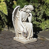 Angel Statue on Base