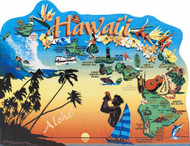 United States Map, Hawaii The Aloha State