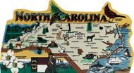 United States Map, North Carolina Tar Heel State