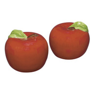 Andrea by Sadek Red Apple Salt & Pepper Shakers