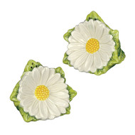 Daisy Flower Salt Pepper Shaker Pair SADEK