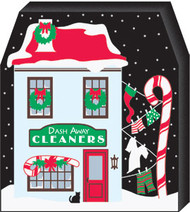 Cat;s Meow Village Dash Away Cleaners North Pole