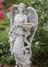 Joseph's Studio Adult Angel with Birdfeeder #64088