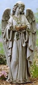 Joseph's Studio Angel holding birds nest #62856