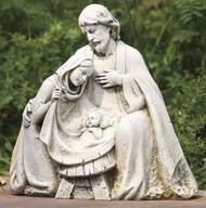 Nativity Garden Statue, Mary, Joseph, Baby Jesus, ROMAN, Joseph's Studio