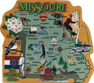 United States Map, Missouri Show Me State