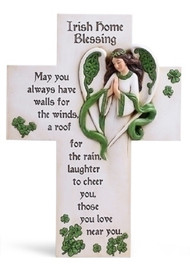 Irish Home Blessing Cross #40043