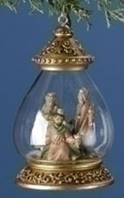 Fontanini Nativity DryDome Christmas Orament Lighted Topper 3 Kings