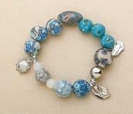 His Story Serenity Prayer Stretch Charm Bracelet