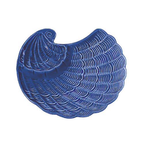 Sadek Nautilus Cobalt Blue Chip Dip Serving Bowl #21378