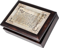 Bereavement Cottage Garden Broken Chain Music Jewelry Box How Great Thou Art NEW