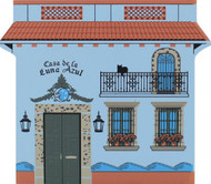 Cat's Meow Village Shelf Sitter - Casa Del La Luna Azul 04-914