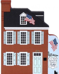 Cat's Meow Village Baltimore MD Star Spangle Flag House #05-435