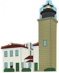 Cat's Meow Village Beavertail Lighthouse Jamestown Rhode Island #2983