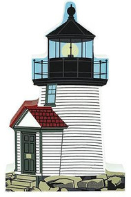 Cat's Meow Village Brant Point Lighthouse Nantucket Island Massachusetts  #2982