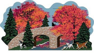 Cat's Meow Village Fall Over the River Bridge #14-952 NEW SHIPPING DISCOUNTS