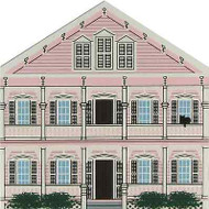 Cat's Meow Village Key West Florida The Pink House #5984