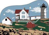 Nubble or Cape Neddick Lighthouse, York Beach, Maine