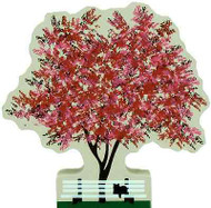 Cat's Meow Village Nature Flowering Crab Apple Tree #R309 NEW Shipping Discounts