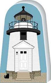 Cat's Meow Connecticut Mystic Seaport Lighthouse