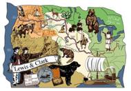 Cat's Meow Village Scene Lewis & Clark Trail #MW6344