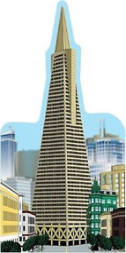 Cat's Meow Village Transamerica Building San Francisco CA #RA926