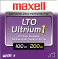 MAXELL 183800 Tape, LTO, Ultrium-1, 100GB/200GB