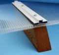 Low-Profile Aluminum Bar Cap - 4 foot