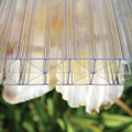 Super 5-Wall Storm Polycarbonate panels Resists high winds and insulates.