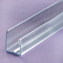 16mm Polycarbonate End Cap -  Polycarbonate U-profile trim seals the ends of polycarbonate panels but allows it to breath.