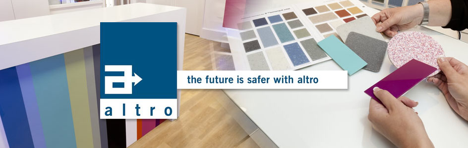 Altro Flooring Materials Safety flooring and smooth vinyl
