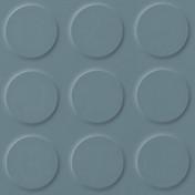 Polyflor SaarFloor Noppe Rubber Floor Tiles Steel 014