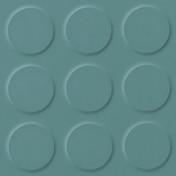 Polyflor SaarFloor Noppe Rubber Floor Tiles Limestone Green 013