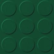 Polyflor SaarFloor Noppe Rubber Floor Tiles Green Baize 015