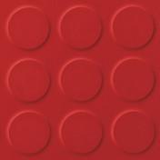 Polyflor SaarFloor Noppe Rubber Floor Tiles Warm Red 012