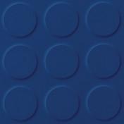 Polyflor SaarFloor Noppe Rubber Floor Tiles Cobalt 019