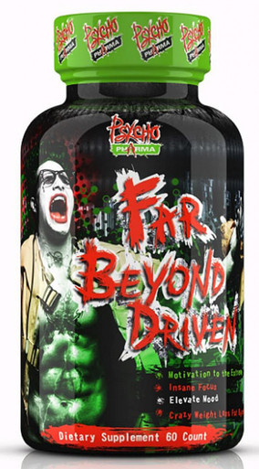 Psycho Pharma Far Beyond Driven