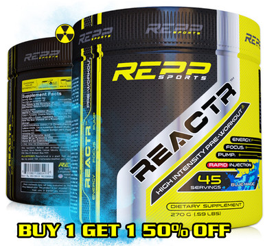 REPP Sports REACTR Explosive Pre-Workout