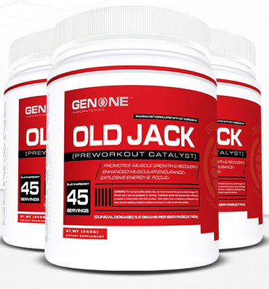 GenOne OLD Jack Pre-Workout