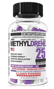 Cloma Pharma Methyldrene 25 Elite Fat Burner